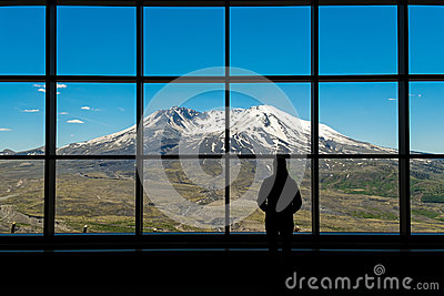 View of Mount St. Helens