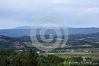 View of Mount Ventoux