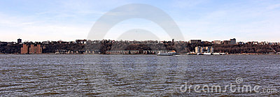 View of the New Jersey Shoreline across the Hudson