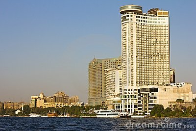 View from Nile river