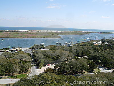 View of Ocean in St. Augustine