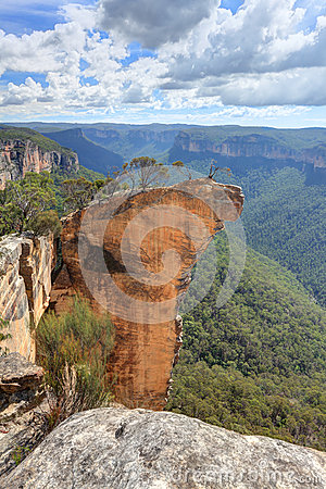 Free View Of Hanging Rock Blue Mountains NSW Australia Stock Images - 41124674