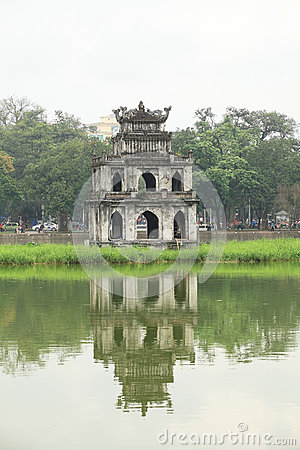 Free View Of Hoan Kiem Lake Stock Image - 40031091