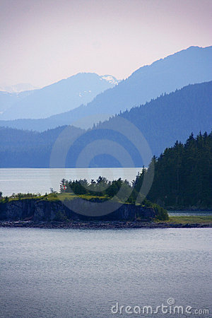 Free View Of Icy Strait, Alaska Stock Photography - 10361232