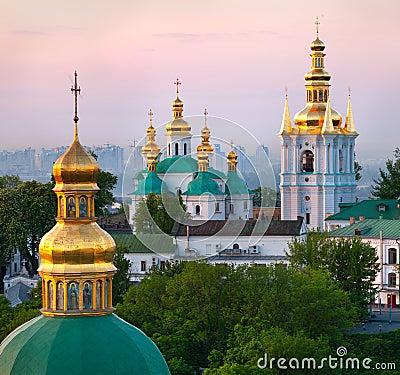 Free View Of Kiev Pechersk Lavra Royalty Free Stock Image - 24372936