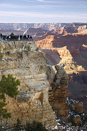 Free View Of The Grand Canyon Royalty Free Stock Images - 4050019