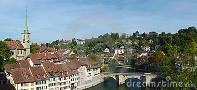 View on old Bern