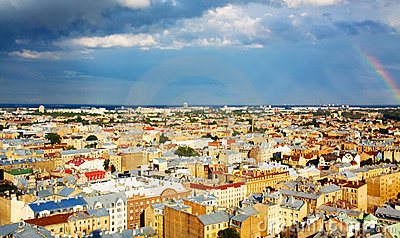 View of old Riga