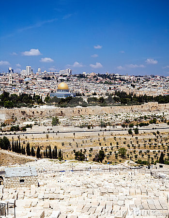 Free View On Jerusalem Stock Image - 6705471