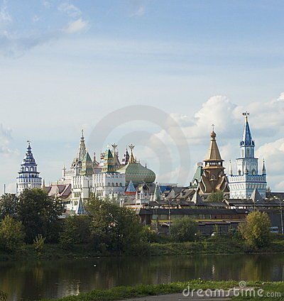 Free View On Kremlin In Izmailovo Stock Images - 13780704