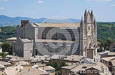 View of Orvieto. Umbria. Italy.