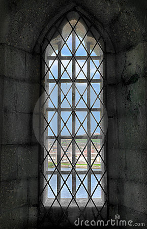 View out the Castle Window