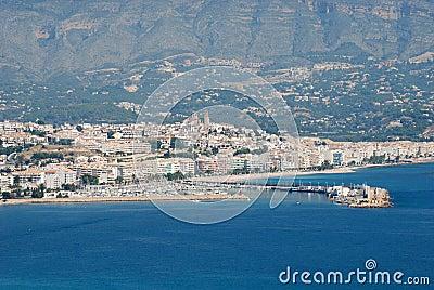 View over Altea, Spain