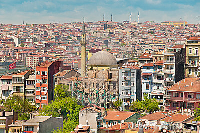 View over Istanbul