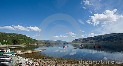 View over Loch Broom.