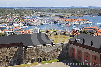 View over Marstrand