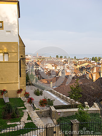 View over Neuchatel