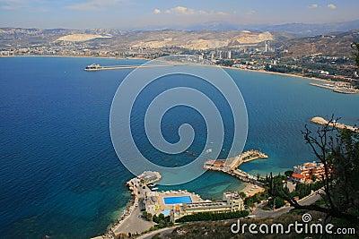View over North Lebanon, Tripoli