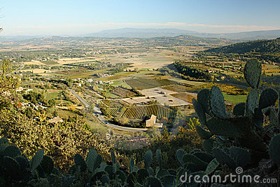View over Provence
