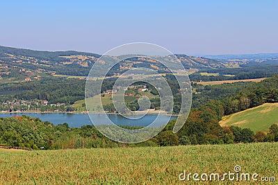 View over Stubenberg Lake