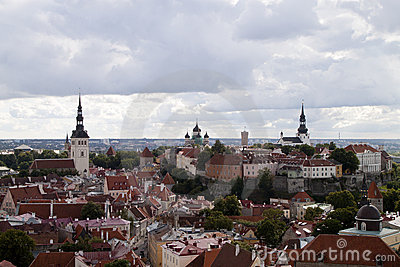 View over Tallinn s Old Town