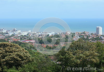 View Over Town Stock Photo - Image: 25559630
