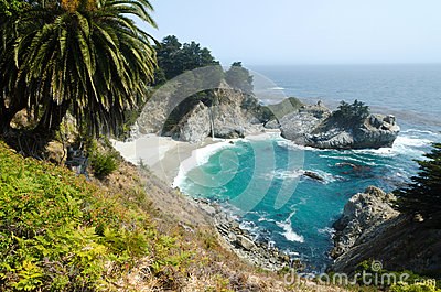 View on Pacific cost. California USA.