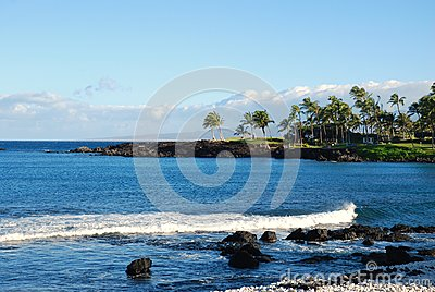 A view on paradise off the Big Island of Hawaii