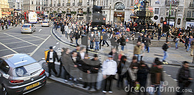 View of Piccadilly Circus, 2010 Editorial Photography