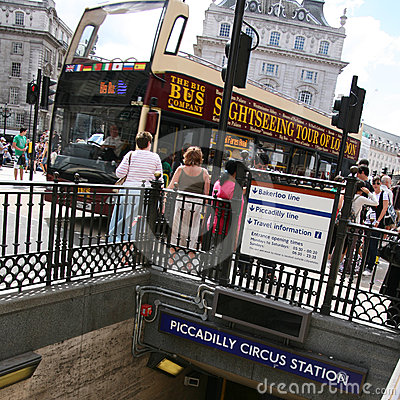 View of Piccadilly Circus, 2010 Editorial Image
