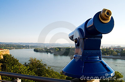 View point over the Danube