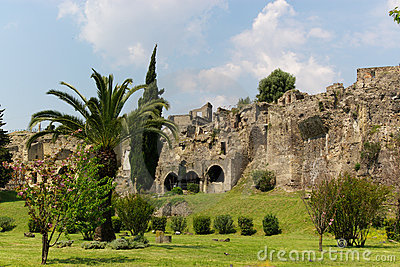 View on pompeii