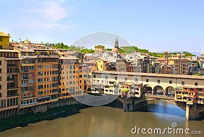 View of Ponte Vecchio, Florence