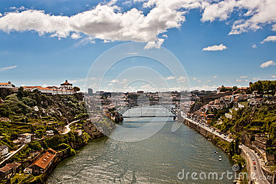 View of Porto and Douro river