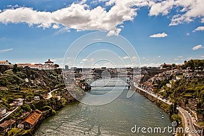 View of Porto and Douro river