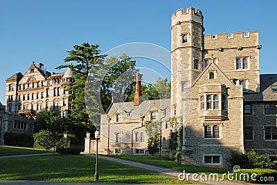 View of Princeton University Editorial Stock Photo