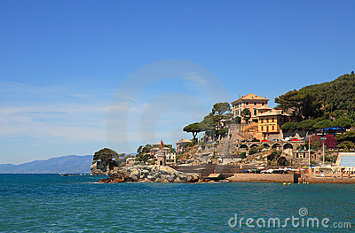 View On Recco - Popular Touristic Resort. Stock Photography - Image: 16584802