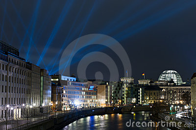 View of the Reichstag. Editorial Stock Photo