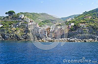 View of Riomaggiore - Italy