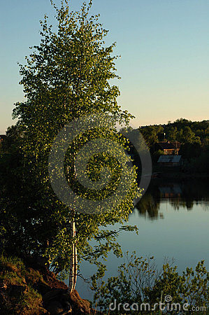 View on the river Volkhov.