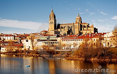 View of Salamanca, Spain