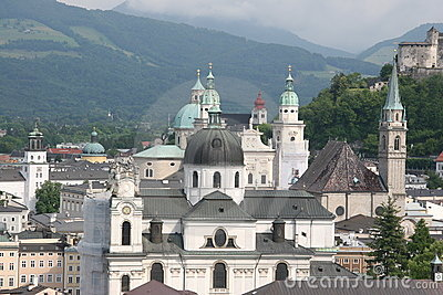 View of Salzburg