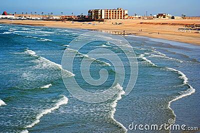 A View of Sandy Beach