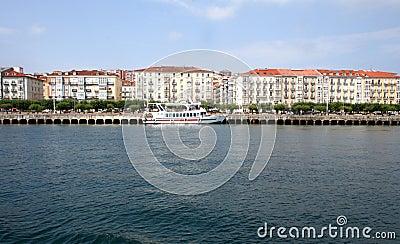 View of Santander