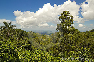 View of Sierra of Escambray