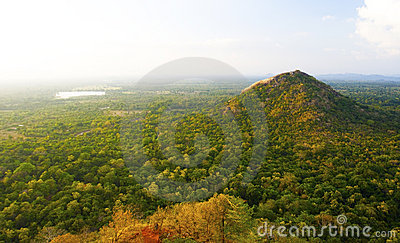 View from Sigiriya Rock, Sri Lanka