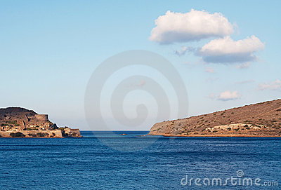 View of Spinalonga island