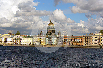 View at St. Isaac s Cathedral