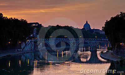 View of St. Peter s Basilica and the Vatican City