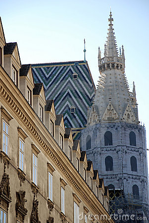 View of St.Stephens cathedral (Vienna)